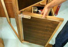 Making wooden hinges