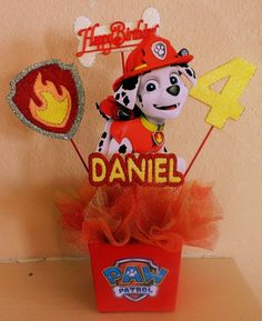 Looking for an exclusive theme for your kids' birthday party? The Paw Patrol could be one of the coolest inspirations that might exceed your expectation. Paw Patrol Birthday Decorations, Kids Party Decorations, Decoration Table, Ideas Party, Prince Birthday Party, 3rd Birthday Parties, 2nd Birthday, Ideas Decoracion Cumpleaños, Cumple Paw Patrol