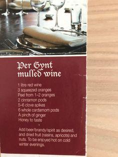 Ginger And Honey, Mulled Wine, Orange Peel, Dried Fruit, Raisin, Red Wine, Food, Eten, Meals