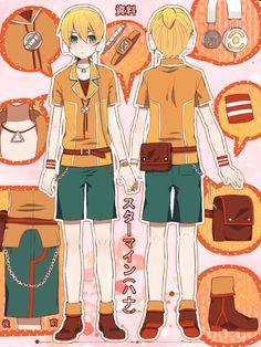 My favourite Len Kagamine outfit! 😘 Luv u Len fireflower Vocaloid Len, Kagamine Rin And Len, Kaito, Character Sheet, Character Art, Mikuo, Fire Flower, I Still Love Him, Anime Dress
