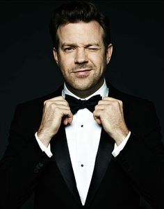 Jason Sudeikis. The fact that he's hilarious makes him even more attractive. -E