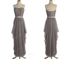 Discount for Jess grey bridesmaid dresses long by sofitdress, $60.00