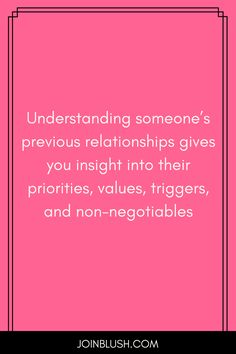 5 non negotiables dating quotes