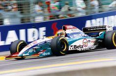 Eddie Irvine 1995 | Eddie Irvine (Australia 1995) by F1-history
