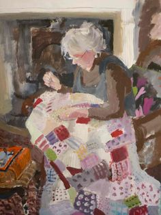 """""""The Quilt"""" by Brita Granstrom"""