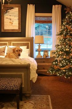 35 Ways To Create A Christmas Wonderland In Your Bedroom Part 43