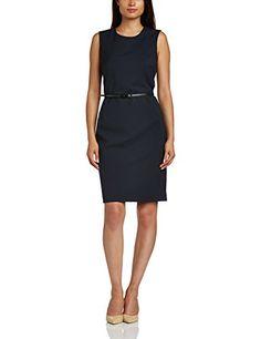 #ESPRIT #Collection #Damen #Etui #Kleid #im #Regular #Fit, #Knielang…