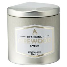Crisp air carries the welcoming smoke of a crackling fire from a nearby cabin. Breathe in the scent of pine and white birch on a sunlit walk along the trail. Our scented candle is crafted from our premium sox wax and poured into a darling mini-tin that's perfect for travel. Burn time: 16-20 hours. 3oz./85g. Available only at Indigo. WARNING: To prevent fire, do not leave burning candles unattended. Do not place burning candles on or near anything that can catch fire. Keep burning candles...