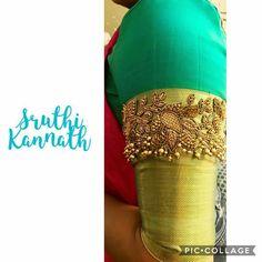 47 Ideas Fashion Trends Future Wedding Gowns For 2019 Wedding Saree Blouse Designs, Half Saree Designs, Pattu Saree Blouse Designs, Simple Blouse Designs, Blouse Back Neck Designs, Blouse Designs Silk, Blouse Patterns, Designer Saree Blouses, Wedding Blouses