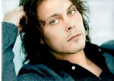 Ville Valo. . . . . those eyes. I'm a sucker for green eyes. <3