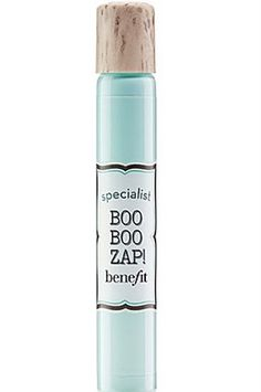 Try this spot treatment for those untimely breakouts, Benefit Cosmetics Boo Boo Zap, $16, sephora.com
