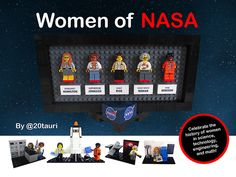 Ladies rock outer space! Women have played critical roles throughout the history of the U.S. space program, a.k.a. NASA or the National Aeronautics and Space Administration. Y...