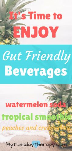These delicious gut friendly probiotic beverages will nourish your gut.