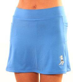 Surf Blue Ultra Swift Athletic Skirt