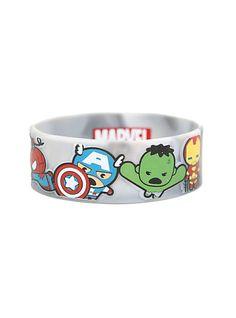 Marvel The Avengers Kawaii Rubber Bracelet | Hot Topic