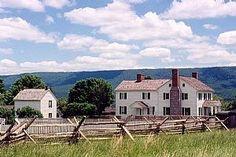 Bushong Farm, New Market Battlefield, Virginia