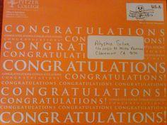 KenziS College Acceptance Letter  My Amazing Daughter Kenzi