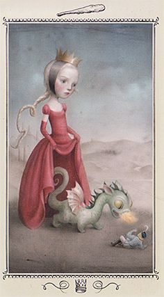 Interesting. The King of Wands from the NICOLETTA CECCOLI TAROT
