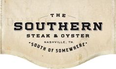 Nashville, TN: Located in the heart of the burgeoning SoBro district in downtown Nashville, The Southern Steak & Oyster is a unique and animated eatery that blends over one hundred years of combined catering and restaurant experience with an individual, authentic taste where culinary meets comfort. It's south of somewhere
