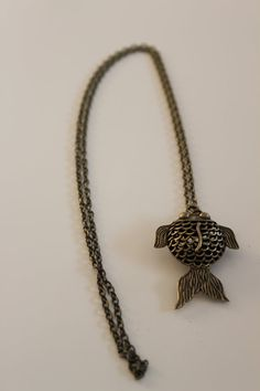 The Gold Fish Necklace