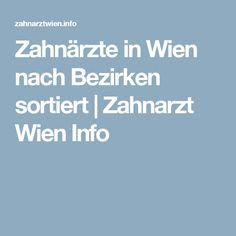 Zahnärzte in Wien nach Bezirken sortiert   Zahnarzt Wien Info