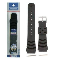 Seiko Rubber Watch Band Original 20mm for Diver Models