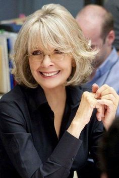 Diane Keaton Hairstyles For Women Over 60 hairstyles for women over 60 diane keaton, Over 60 Hairstyles, Wavy Bob Hairstyles, Older Women Hairstyles, Trendy Hairstyles, Everyday Hairstyles, Short Hairstyle, Hairstyle Ideas, Hair Ideas, Fashion Hairstyles