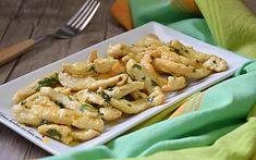 Straccetti di pollo al limone e curry