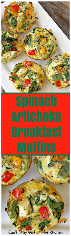 These savory and delectable muffins are wonderful for a holiday breakfast. These gluten free muffins contain bacon, eggs, cheese, bell peppers inside a hash brown crust. So scrumptious! Breakfast Muffins, Breakfast Dishes, Breakfast Casserole, Best Breakfast, Breakfast Recipes, Breakfast Potatoes, Egg Muffins, Vegetarian Hash, Vegetarian Breakfast