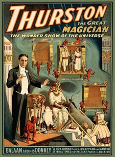 Howard Thurston Harry Houdini's contemporary and rival.