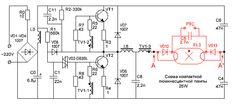 Принципиальная схема люминесцентной лампы с цоколем Е27 Linux Kernel, Linux