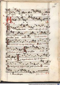 Cantionale, Geistliche Lieder mit Melodien. Münchner Marienklage Tegernsee, 3. Drittel 15. Jh. Cgm 716  Folio 176