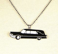 Rolling Death Hearse Necklace