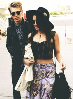 Vanessa and Austin! Both so cute and have the style to match <3