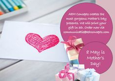 Original gifts for Mother's Day. Contact us via  communicatie@aehconcepts.com.