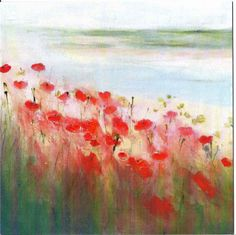 """Poppies in the Stuary"" - by Sue Fenlon"