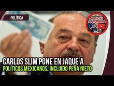 Carlos Slim pone en jaque a políticos mexicanos, incluido a Enrique Peña Nieto | Noticias al Momento https://www.youtube.com/watch?v=u5z6Nvj5Uf4