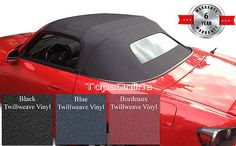 Honda S2000 02-09 AP2 Convertible Top and Heated Glass Window Twill Weave Vinyl