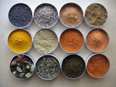 Never thought much about the colors of the spices in my cabinet.