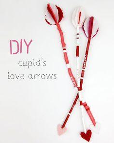 Wear The Canvas: DIY Fri: Cupid's Love Arrows