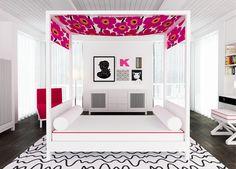 decor, interior design, girl room, cabana collect, cabanas