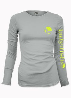 Ladyfish upf long sleeve shirt i can bait my own hook for Spf shirts for fishing