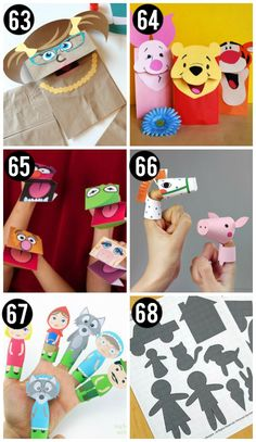 Printable Puppet Crafts for Kids