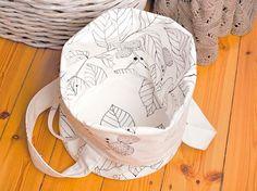 Tutoriel DIY: Coudre un sac à linge via DaWanda.com