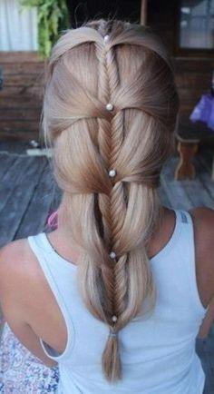 Fancy Fishtail braids