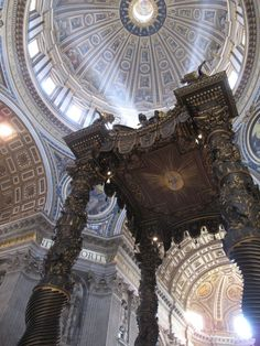 Visit St. Peter's Basilica #travel #italy