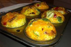 Annaoj: Make Ahead Baked Mini Frittatas