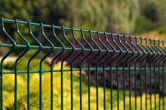 Panele ogrodzeniowe 3D w kolorze ZIELONYM , Standardowa wysokość - 1,03 , 1,23 , 1,53 , 1,73 , 2,03 m , http://ogrodzenia24.eu/panele-zielone-c-3_37_68.html