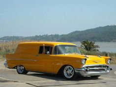 1957 Chevy Sedan Delivery Maintenance of old vehicles: the material for new cogs/casters/gears could be cast polyamide which I (Cast polyamide) can produce