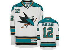 Mens San Jose Sharks Joe Thornton 19 White Authentic NHL Jersey on eBid  United States Shark 5bfde6a98